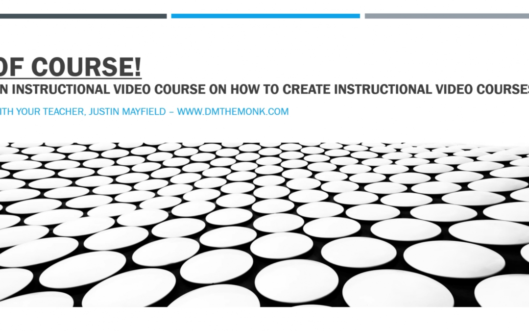 Creating Online Courses with JM